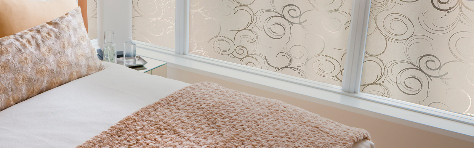 Gila® Filigree Privacy Control Window Film