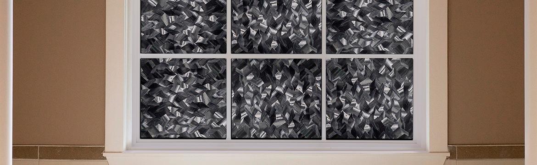 Gila Crystal Noir Privacy Control Window Film