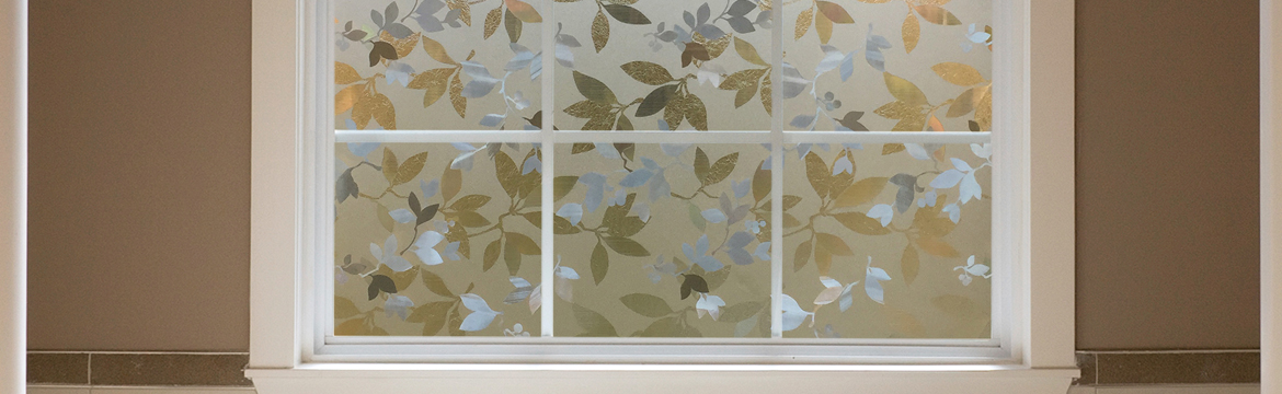 Autumn Frost Decorative Window Film Gila Window Film