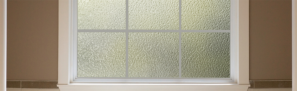 Crackled Glass Side Light Window Film