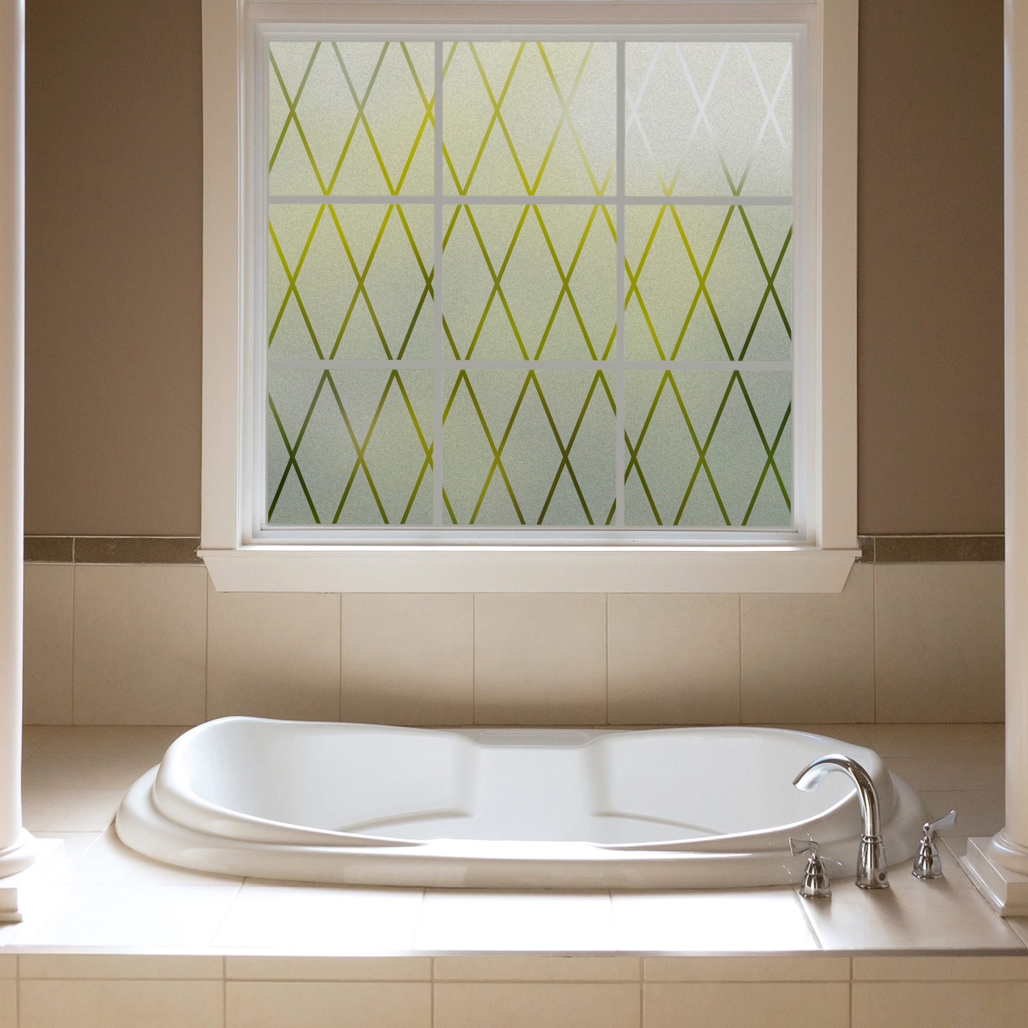 Gila Frosted Lattice Privacy Control D Cor Window Film
