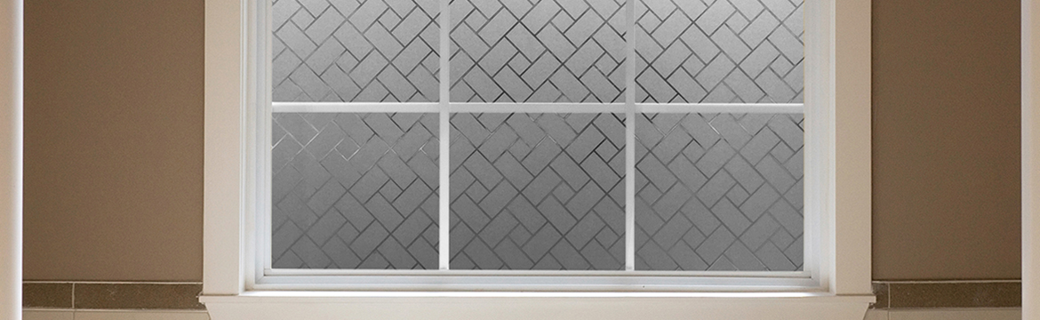 Frosted Tiles Privacy Control Décor Window Film