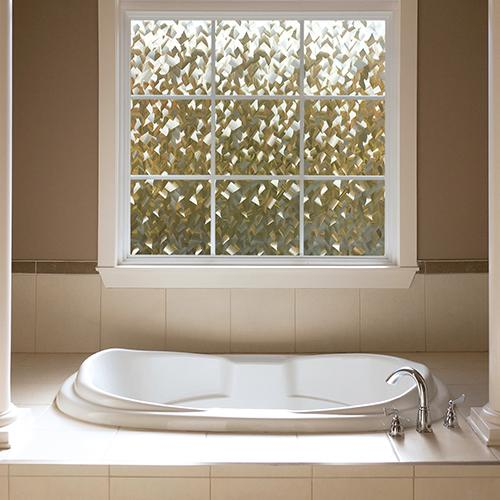 Privacy window film crystal gila window film for Small bathroom windows for sale